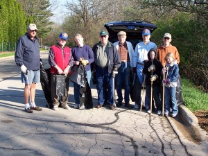 Kiwanis Pathway Clean Up- Earth Day II